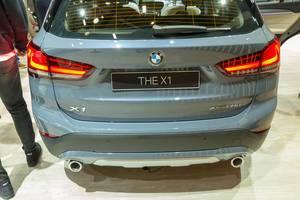 Kofferraum und Heckansicht des BMW x1 xDrive 20d