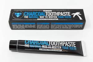 Kokosnuss Aktivkohle Zahnpasta - Fluoridfrei - Für weiße Zähne - Minzgeschmack - Natürliche Zahnaufhellung - Bleaching - Aktivkohle für die Zähne - Zahn Whitening - Zahnbleaching - Teeth Whitening