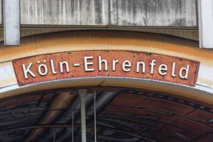Köln-Ehrenfeld Station in Cologne