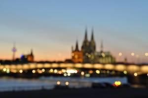 Kölner Dom unscharf