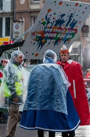 Kölner Karneval 2016 im Regen