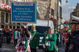 Kölner Karnevalsgesellschaft Alt-Lindenthal 1967 - Kölner Karneval 2018