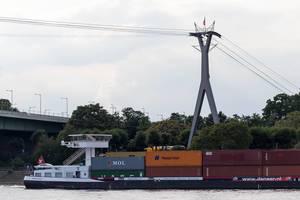 Kölner Seilbahn derzeit außer Betrieb