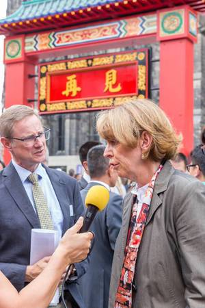 Kölns Oberbürgermeisterin Henriette Reker im Interview