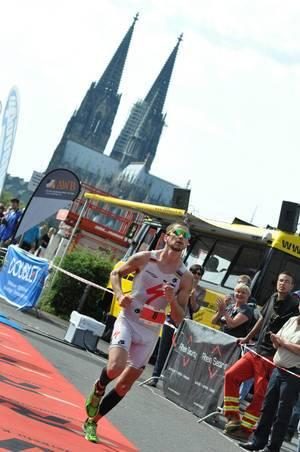 Kölntriathlon 2012: 2. Platz Till Schramm