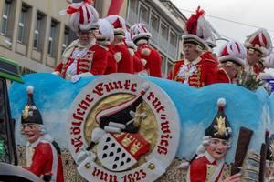 Kölsche Funke rut-wieß vun 1823 - Kölner Karneval 2018