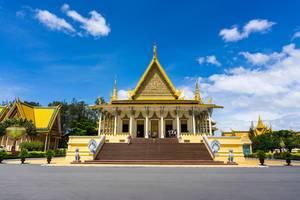 Königlicher Palast in Phnom Penh, Kambodscha