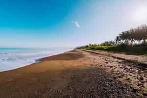 Küstenstreifen In Carit-An Antique, Philippinen