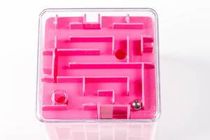 Labyrinth cube. The concept of finding the right way, solutions (Flip 2020)