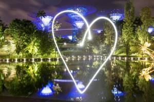 Langzeitbelichtung mit Herz: Malen mit dem Smartphone