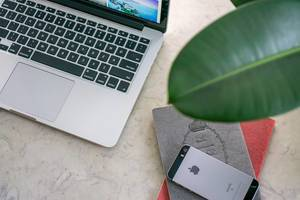 Laptop, Phone and Notebooks are needed as a Digital Nomad  Flip 2019