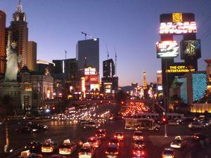 Las Vegas Boulevard Traffic