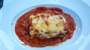 Lasagne mit Tomatensoße
