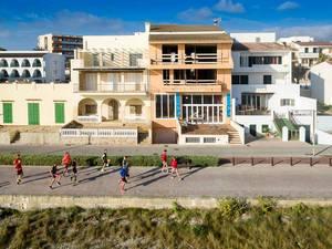 Lauf-ABC an der Promenade von Can Picafort
