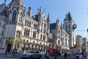 Law Courts in London