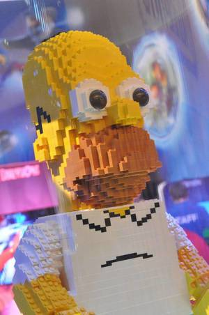 LEGO: Homer Simpson