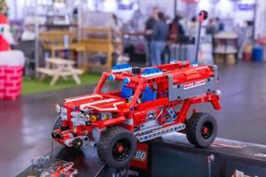 Lego Technic Feuerwehrauto