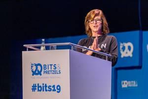 Leidenschaft im Fokus: der Vortrag von Donna Carpenter inspiriert das Publikum von der Münchner Start-Up-Messe