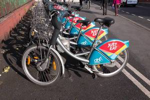 Leih-Fahrräder in Dublin (DublinBikes)