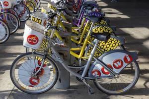 Leihräder von Citybike Wien