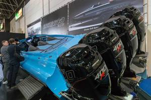 Leistungsstarke Außenbordmotoren Verado 400R - Boot Düsseldorf 2018