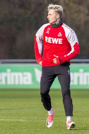 Leonardo Bittencourt beim Training am 30.01.2018