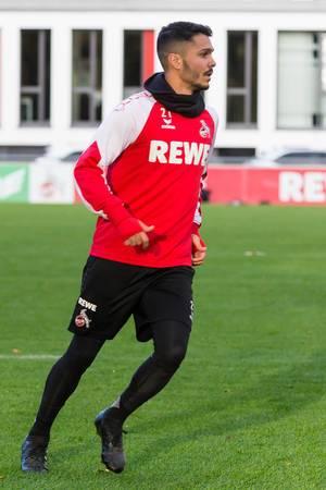 Leonardo Bittencourt von 1. FC Köln beim Training am 13.11.2017