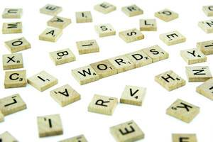 Letters in disorder and reading WORDS