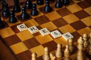 Letters Reading Chess
