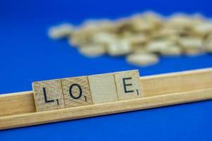 Letters Spelling Love