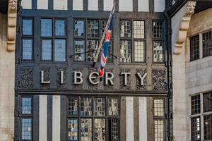 Liberty Department Store, Great Marlborough Street, London, Engl. Angleterre, english.