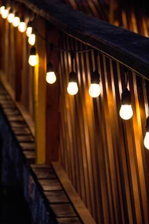 Lights Decorating a Bridge  Flip 2019