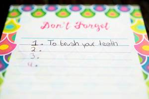 Liste von Dingen, die man nicht vergessen sollte
