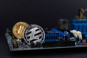 Litecoin on motherboard
