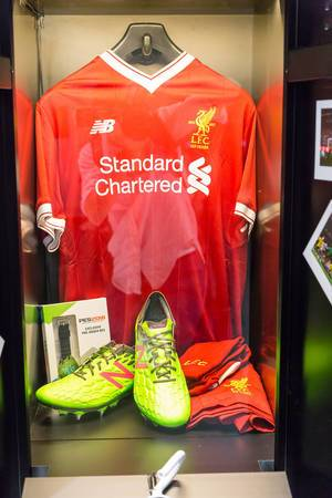 Liverpool FC 125 Year Anniversary Collection – Gamescom 2017, Cologne