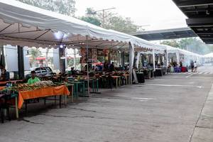 Local dishes being served at a food park in Talisay (Flip 2019)