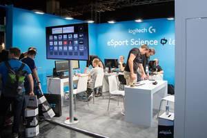 Logitech G esports at Gamescom Fair 2017