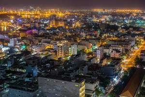 Long Exposure of Saigon by Night