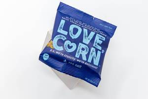 Love Corn -  vegan, gluten free roasted corn snack with sea salt