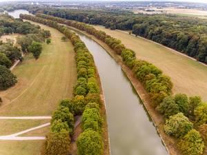 Luftbild:  Decksteiner Weiher Köln