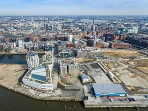 Luftbild: Hamburg Cruise Center Hafencity