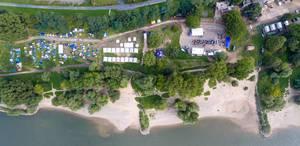 Luftbild: Kölner Jugendpark