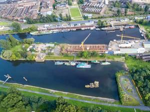 Luftbild: Mülheimer Hafen