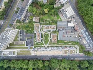 Luftbild: Oskar-Jäger-Straße Köln