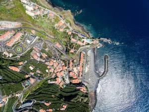 Luftbild: Ponta do Sol von oben