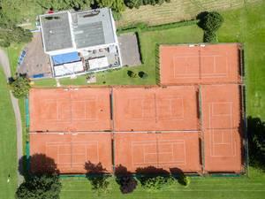 Luftbild: Ruder- und Tennisklub Germania e.V. Köln