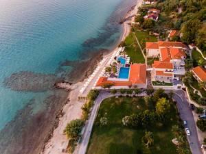 Luftbild von Melior Resorts in Afitos, Griechenland