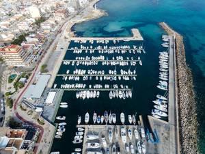 Luftbild: Yachthafen Can Picafort, Mallorca