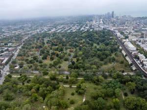 Luftbildaufnahme: Friedhöfe Wunder