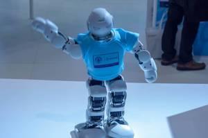 Lynx Alpha 1E Robot walking and waving